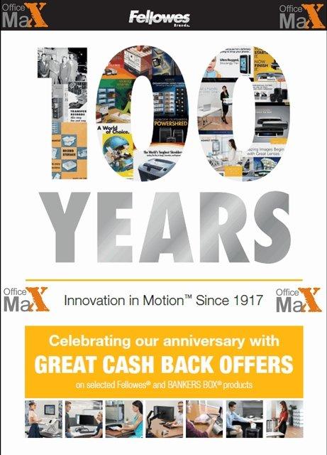 100 de ani de Fellowes